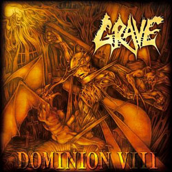 "Grave - ""Dominion VIII"" CD cover image - Click to read review"