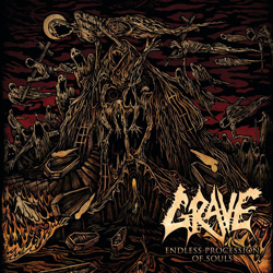 "Grave - ""Endless Procession Of Souls"" CD cover image - Click to read review"