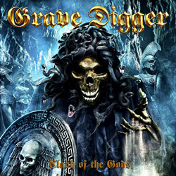 "Grave Digger - ""Clash Of The Gods"" CD cover image - Click to read review"