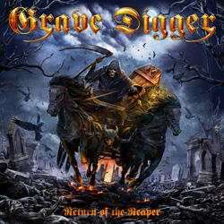 "Grave Digger - ""Return Of The Reaper"" CD cover image - Click to read review"