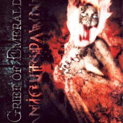 "Grief of Emerald - ""Nightspawn"" CD cover image - Click to read review"