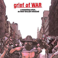 "Grief of War - ""A Mounting Crisis...As Their Fury Got Released"" CD cover image"