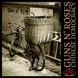 "Guns N Roses - ""Chinese Democracy"" CD cover image"