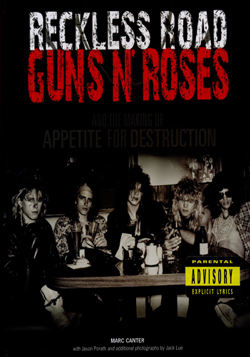 "Guns N Roses - ""Reckless Road"" Book cover image"