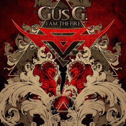 "Gus G. - ""I Am The Fire"" CD cover image"