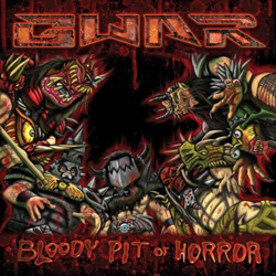 "Gwar - ""Bloody Pit Of Horror"" CD cover image - Click to read review"