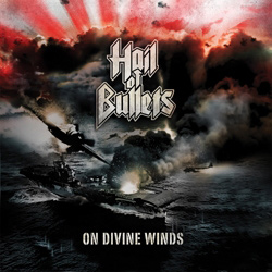 "Hail of Bullets - ""On Divine Winds"" CD cover image - Click to read review"
