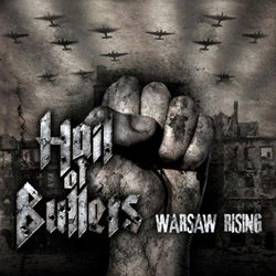 "Hail of Bullets - ""Warsaw Rising"" CD/EP cover image - Click to read review"
