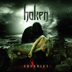 "Haken - ""Aquarius"" CD cover image - Click to read review"