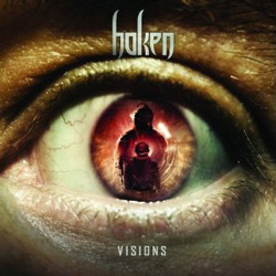 "Haken - ""Visions"" CD cover image - Click to read review"
