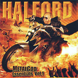 "Halford - ""Metal God Essentials - Volume 1"" CD cover image"