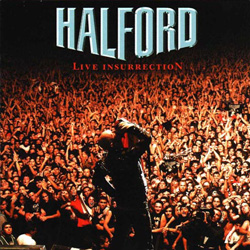 "Halford - ""Live Insurrection (remastered)"" CD cover image - Click to read review"