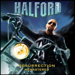 "Halford - ""Resurrection (remastered)"" CD cover image"