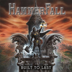 "Hammerfall - ""Built To Last"" CD cover image - Click to read review"