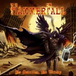 "Hammerfall - ""No Sacrifice, No Victory"" CD cover image - Click to read review"