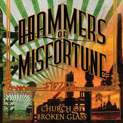 "Hammers of Misfortune - ""Fields/Church of Broken Glass"" 2-CD Set cover image - Click to read review"