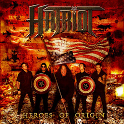"Hatriot - ""Heroes Of Origin"" CD cover image"