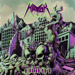 "Havok - ""Burn"" CD cover image"