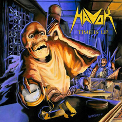 "Havok - ""Time Is Up"" CD cover image"
