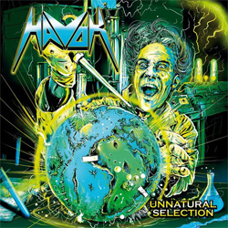 "Havok - ""Unnatural Selection"" CD cover image"