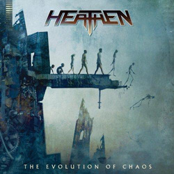 "Heathen - ""Evolution of Chaos"" CD cover image"