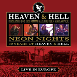 "Heaven & Hell - ""Neon Nights: 30 Years Of Heaven & Hell"" CD cover image"