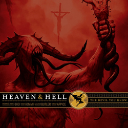 "Heaven & Hell - ""The Devil You Know"" CD cover image - Click to read review"