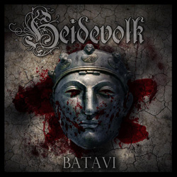 "Heidevolk - ""Batavi"" CD cover image - Click to read review"