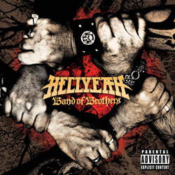 "HellYeah - ""Band Of Brothers"" CD cover image - Click to read review"