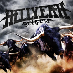 "HellYeah - ""Stampede"" CD cover image - Click to read review"