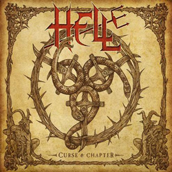 "Hell - ""Curse and Chapter"" CD cover image - Click to read review"