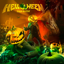 "Helloween - ""Straight Out Of Hell"" CD cover image"