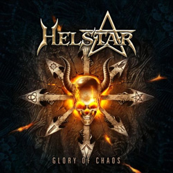 "Helstar - ""Glory of Chaos"" CD cover image - Click to read review"