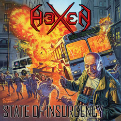 "Hexen - ""State Of Insurgency"" CD cover image"