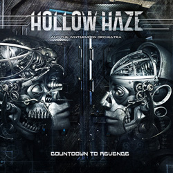 "Hollow Haze - ""Countdown To Revenge"" CD cover image"