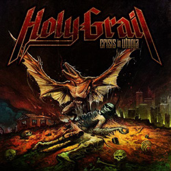 "Holy Grail - ""Crisis In Utopia"" CD cover image"