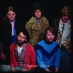 "Horse The Band - ""Desperate Living"" CD cover image"