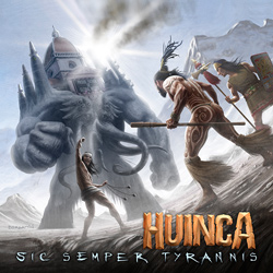 "Huinca - ""Sic Semper Tyrannis"" CD cover image - Click to read review"