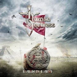 "Human Fortress - ""Raided Land"" CD cover image"