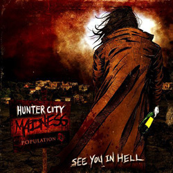 "Hunter City Madness - ""See You In Hell"" CD/EP cover image - Click to read review"