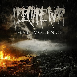 "I Declare War - ""Malevolence"" CD cover image - Click to read review"