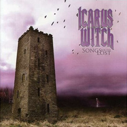 "Icarus Witch - ""Songs for the Lost"" CD cover image - Click to read review"