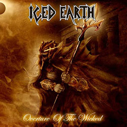 "Iced Earth - ""Overture of the Wicked"" CD/EP cover image - Click to read review"