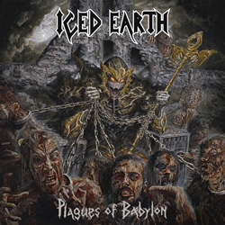 "Iced Earth - ""Plagues Of Babylon"" CD cover image"