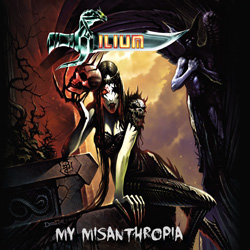 "Ilium - ""My Misanthropia"" CD cover image - Click to read review"