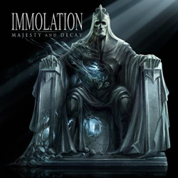 "Immolation - ""Majesty And Decay"" CD cover image"