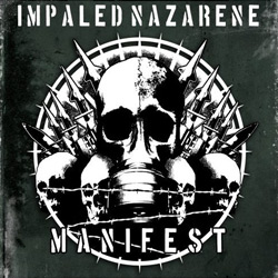 "Impaled Nazarene - ""Manifest"" CD cover image"