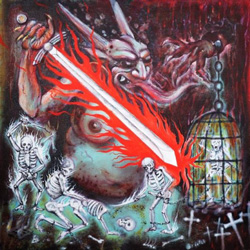 "Impaled Nazarene - ""Vigorous And Liberating Death"" CD cover image"