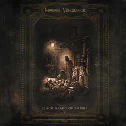 "Imperial Vengeance - ""Black Heart Of Empire"" CD cover image"