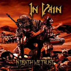 "In Vain - ""In Death We Trust"" CD cover image - Click to read review"